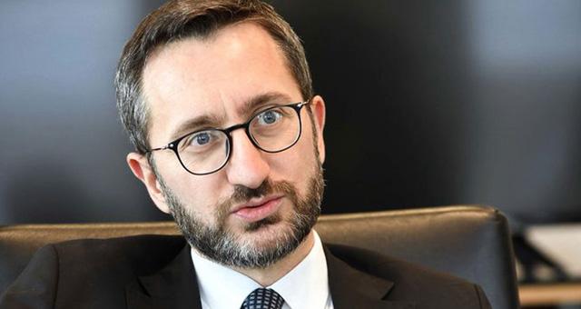 Fahrettin Altun: Halk, terörün siyasi uzantılarıyla işbirliğini hazmedemiyor