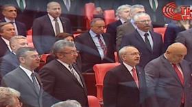 23 Nisan özel oturumunda HDP'liler İstiklal Marşı okumadı