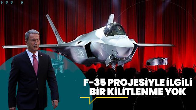 'F-35 projesiyle ilgili bir kilitlenme yok'