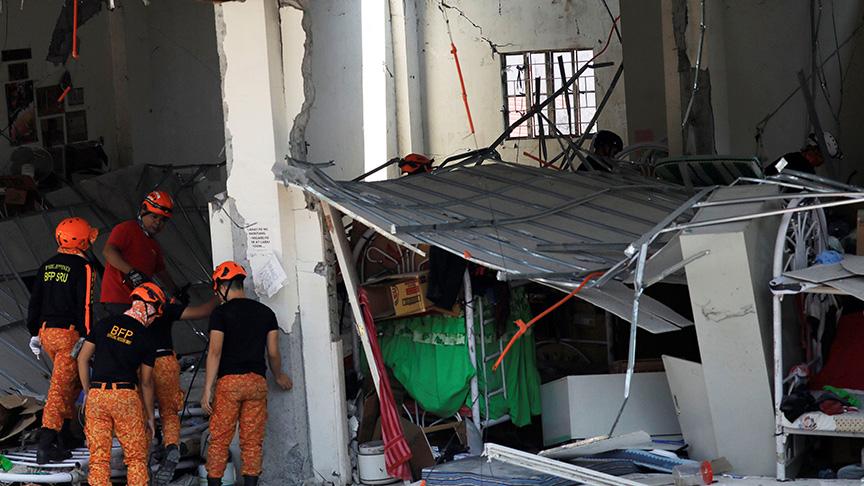 Filipinler'deki depremde ölü sayısı 11'e yükseldi