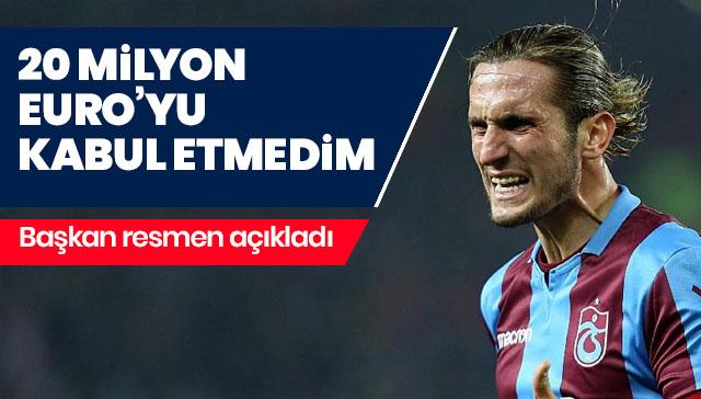 Trabzonspor başkanından flaş açıklamalar