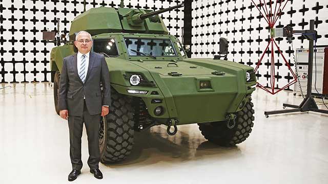 Savunmanın ilk elektrikli zırhlısı