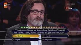 Yarışmacının bilemediği soru Kayseri için avantaja dönüştü