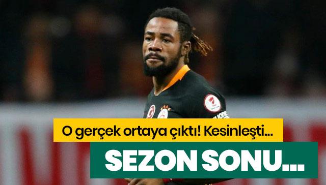 Galatasaray sezon sonu Luyindama'nın bonservisini almak zorunda