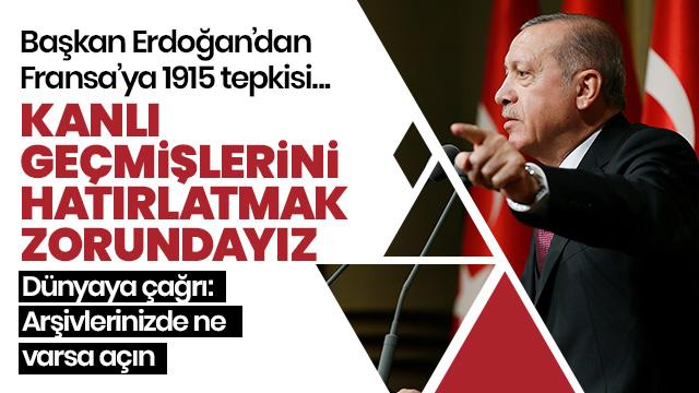 Başkan Erdoğan Külliye'de konuştu
