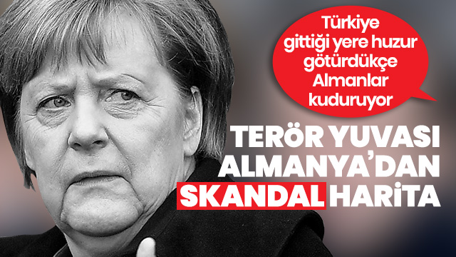 Alman Der Spiegel dergisinden skandal Türkiye haritası!