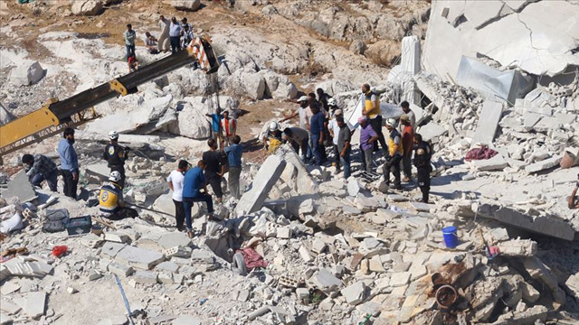 Suriye'nin İdlib kentinde patlama: 11 sivil yaşamını yitirdi, 27 sivil yaralandı