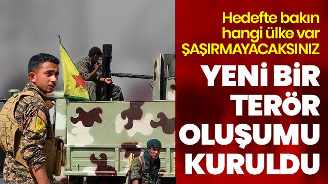 Terör örgütü YPG/PKK Ermeni terör grubu kurdu