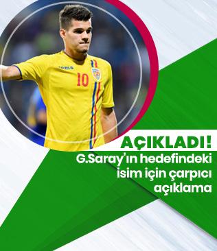 Galatasaray'ın gündemindeki Ianis Hagi için transfer açıklaması