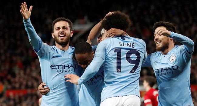 Manchester derbisinde gülen taraf City!