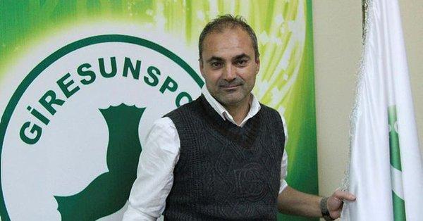 Giresunspor Erkan Sözeri ile anlaşmaya vardı