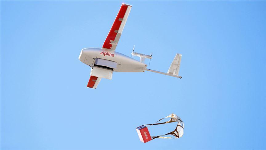 Afrika'ya drone'la ilaç, aşı ve kan desteği sağlayacak