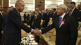 Başkan Erdoğan ve Kılıçdaroğlu saldırıdan sonra ilk kez bir araya geldi