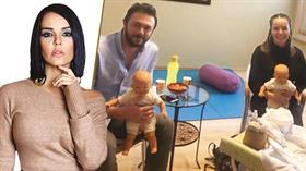 Bengü, oyuncak bebekle annelik provası yapmaya başladı