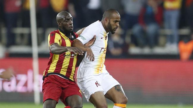 Galatasaray'da Marcao mücadeleyi tamamlayamadı
