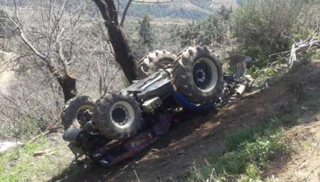 Kastamonu'da arızalanan traktörün altında kalan sürücü öldü