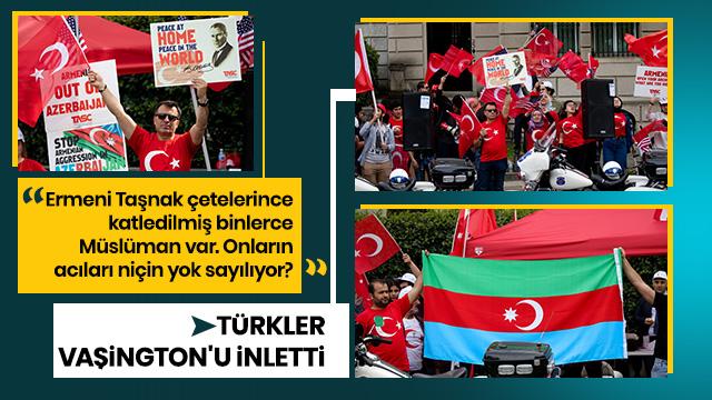 Türklerden Ermeni safsatalarına karşı protesto