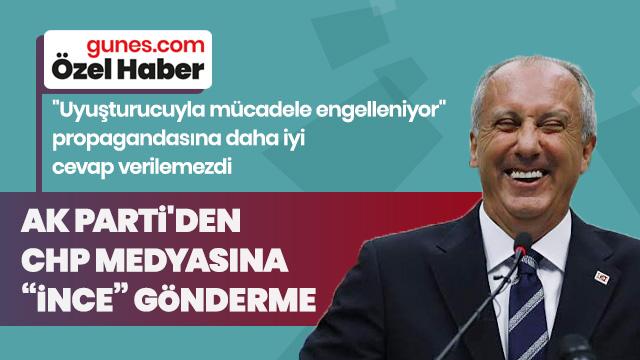 AK Parti'den CHP medyasına ince gönderme