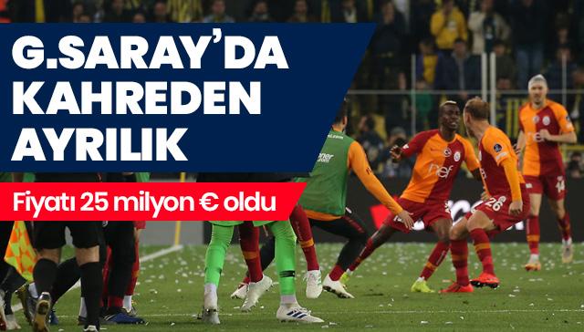 Onyekur Galatasaray'dan ayrılıyor! 25 milyon euro oldu