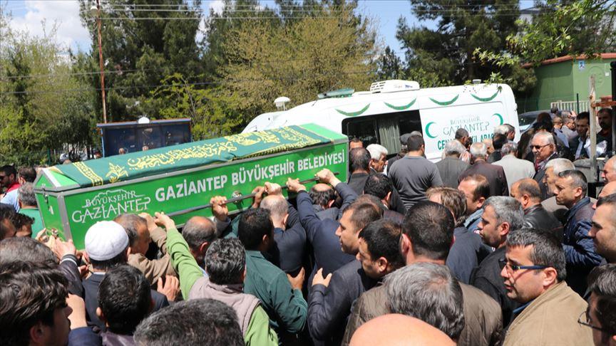 CHP Oğuzeli İlçe Başkanı İlhan Keskinsoy Keskinsoy toprağa verildi