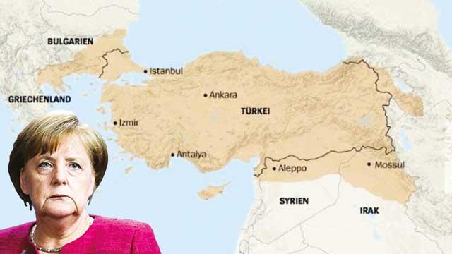 Almanya'dan skandal harita