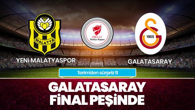 Yeni Malatyaspor-Galatasaray | İlk 11'ler