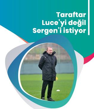 Taraftarlar Lucescu'yu değil Sergen'i istiyor