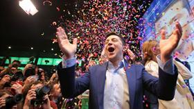 Ukrayna'nın yeni lideri komedyen Zelenskiy'nin seçim zaferi sonrası tatil rotası Türkiye oldu