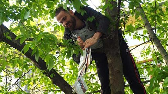 Kocaeli'de ağaçlar kitap açtı