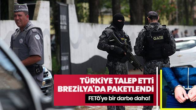 Türkiye talep etti, Brezilya'da gözaltına alındı
