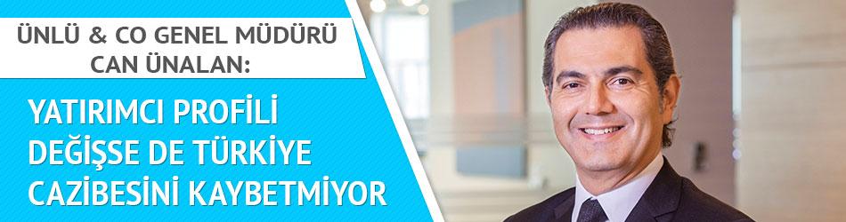'Yatırımcı profili değişse de Türkiye cazibesini kaybetmiyor'