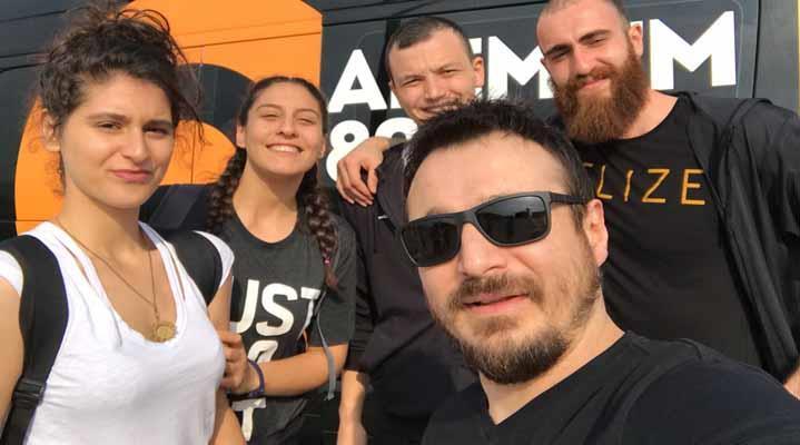 Alem FM Aydın Koç Spor Fest'te! Serdar Gökalp Aydın'da