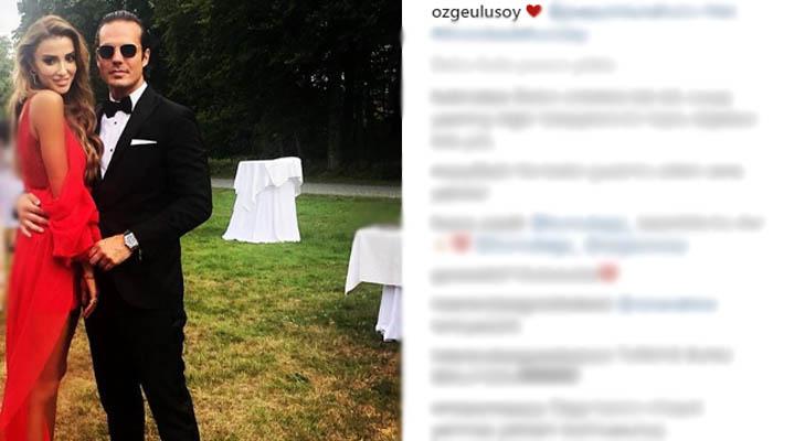 Ulusoy, Londra'da yaşayan yatırım bankacısı olan Joaquim Lundholm'la yaşadığı aşkı sosyal medya hesabından paylaştığı fotoğrafla işte böyle duyurdu.