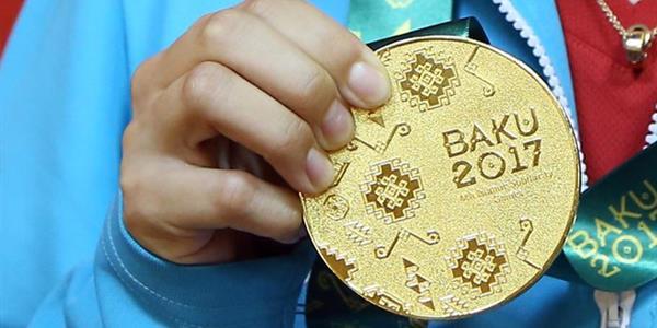 Bakü 2017'nin 8. gününde 4 madalya daha geldi