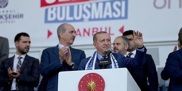 Cumhurbaşkanı Erdoğan: Talimatı verdim, 'arena' isimlerini statlardan kaldırıyoruz
