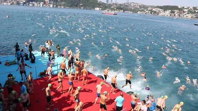 Kıtalararası Yüzme Yarışı gerçekleştirildi