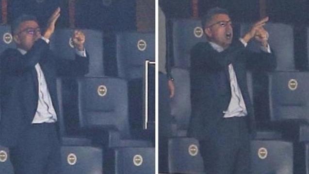 Fenerbahçe'li yöneticiden şok hareket!