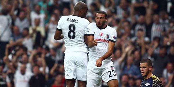 Vodafone Park'ta şov yaptık! Beşiktaş 2 Leipzig 0