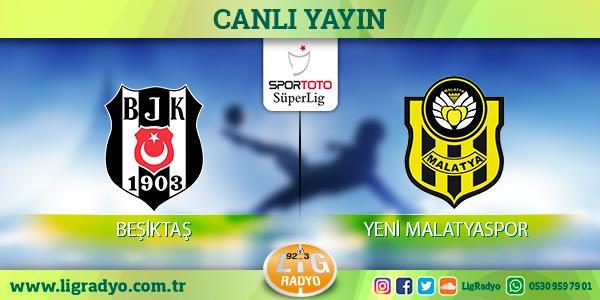 Beşiktaş'ın konuğu Malatyaspor!