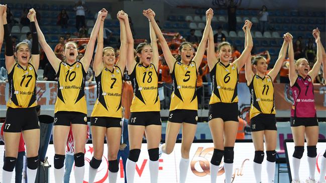 Vakıfbank, 4. kez Avrupa şampiyonu oldu