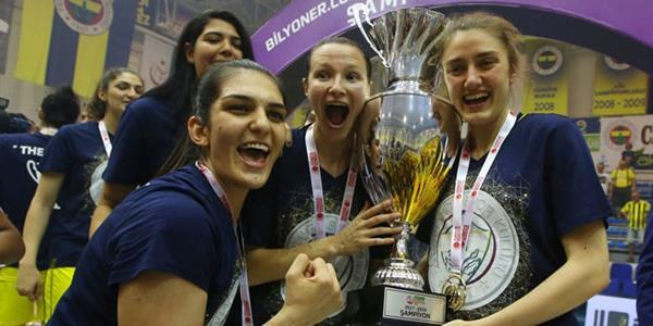 Fenerbahçe seriyi 3-1'e getirdi ve şampiyon oldu