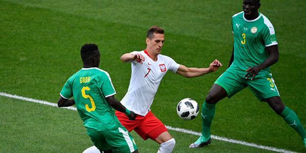 H Grubu'nda Senegal: 2 Polonya: 1