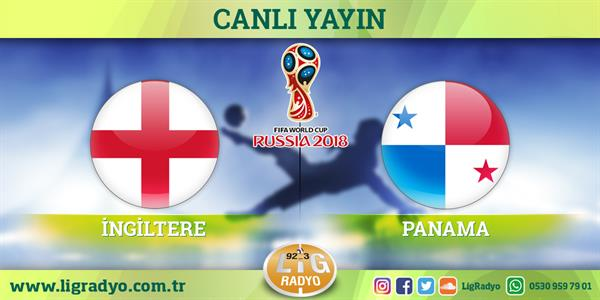 İngiltere - Panama | CANLI