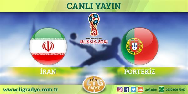 İran - Portekiz | CANLI