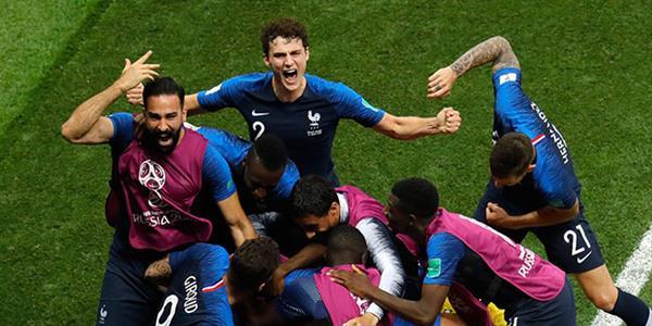2018 Dünya Kupası Fransa'nın!