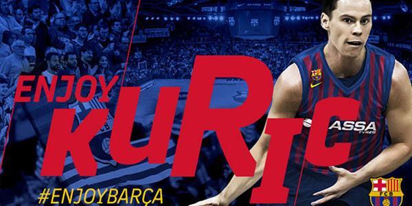 Kyle Kuric Barcelona'da!