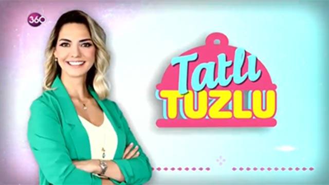 Tatlı Tuzlu - Kırmızı Pasta ve ve Mahlepli Susamlı Tuzlu - 18 Ocak 2019